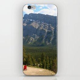 Enjoying The Beautiful View iPhone Skin