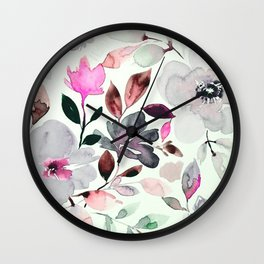 FLORAL PATTERN28 Wall Clock