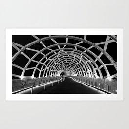 Webb Bridge Art Print