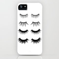 Beauty Lashes iPhone (5, 5s) Slim Case