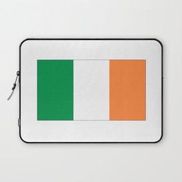 Irish flag -ireland,eire,airlann,irish,gaelic,eriu,celtic,dublin,belfast,joyce,beckett Laptop Sleeve