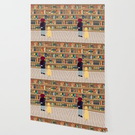 Take a book to kennel Wallpaper