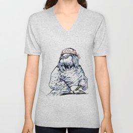 David Foster Walrus T-Shirt Unisex V-Neck