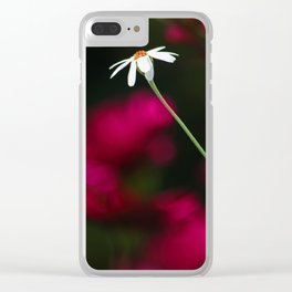 strong one Clear iPhone Case