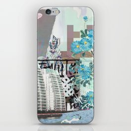 Media city iPhone Skin