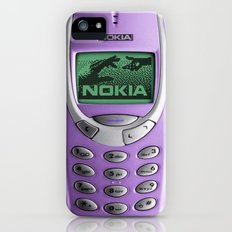 OLD NOKIA Purple iPhone (5, 5s) Slim Case