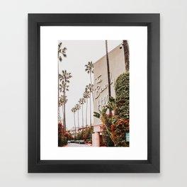 The Beverly Hills Hotel / Los Angeles, California Framed Art Print