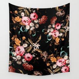 Midnight Garden IV Wall Tapestry