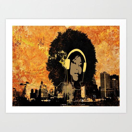 Rebel Love.... Art Print