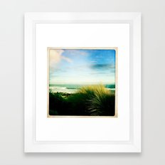 sea side Framed Art Print