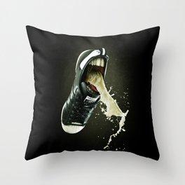 Sick Kicks Throw Pillow