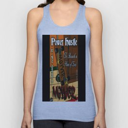 Power Hustle (To Reach a Place of Zen) artwork Unisex Tank Top