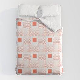 Rachel's Wavy Coral Pattern Duvet Cover