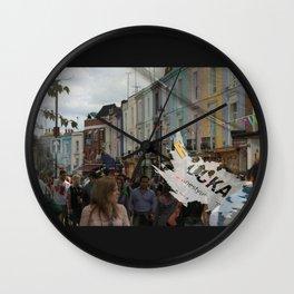 FUCKA U UP Wall Clock