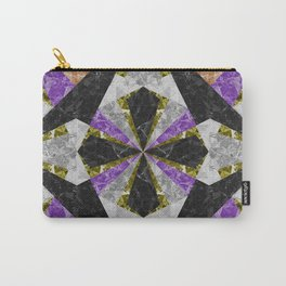 Marble Geometric Background G441 Carry-All Pouch