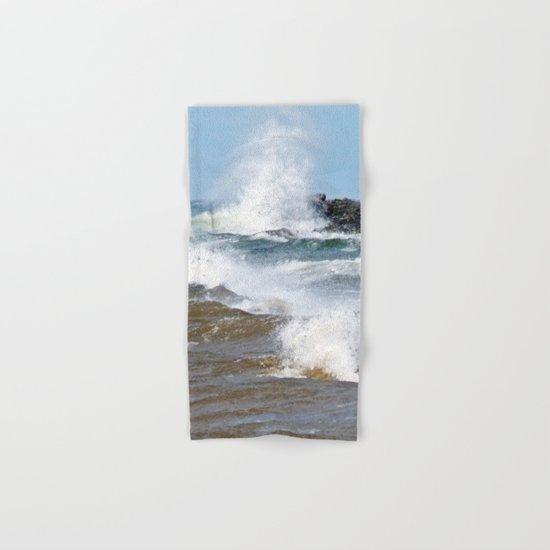 Surf's Spray Hand & Bath Towel