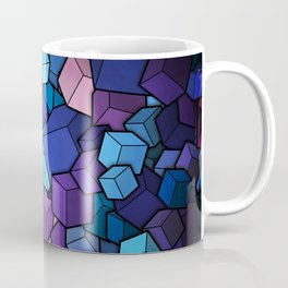 Abstract cubes Coffee Mug