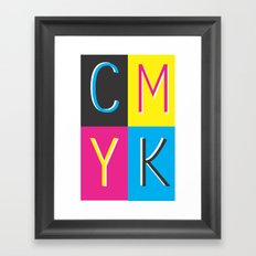 CMKY Framed Art Print