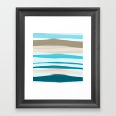Sandbanks Framed Art Print