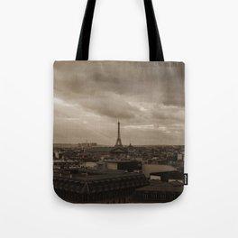 Rooftop view of Paris Tote Bag