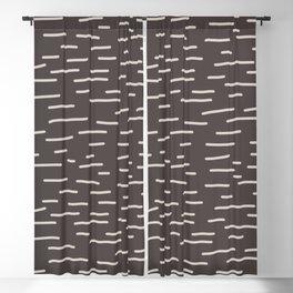 S5115-8n, Beige & Dark Brown, Random lines, Art Design, Trendy home decor, illustration, Blackout Curtain