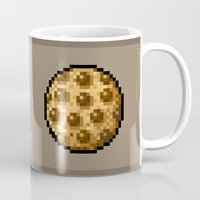 cookie Mugs featuring Cookie by HOVERFLYdesign