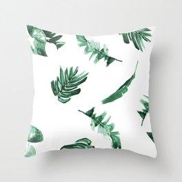 Tropical Twist Throw Pillow