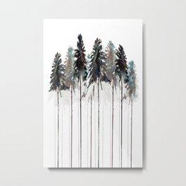 Siberian Forest 3.0 Metal Print