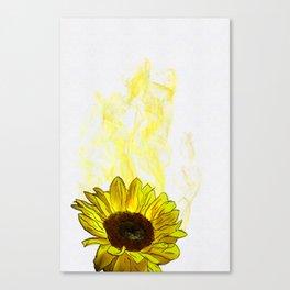 Ephemeral Flower 3 Canvas Print