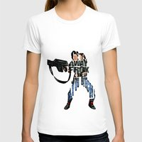 ripley T-shirts featuring Ellen Ripley from Alien by Ayse Deniz