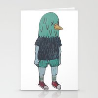 birdman Stationery Cards featuring BIRDMAN by Levi Gosteli