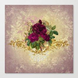 Decadent Velvet Rose Canvas Print