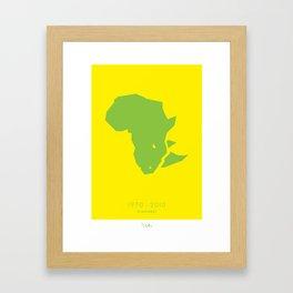 47000 Rhinos Framed Art Print