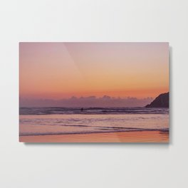 Sunset Surf 2 Metal Print