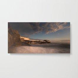 Cromer Pier at dawn Metal Print
