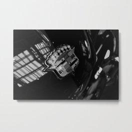 Rita Hayworth's Cadillac Ghia Metal Print