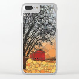 :: Around Robin's Barn :: Clear iPhone Case