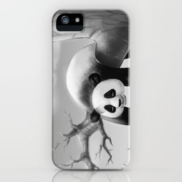 Hang In There, Panda! iPhone Case