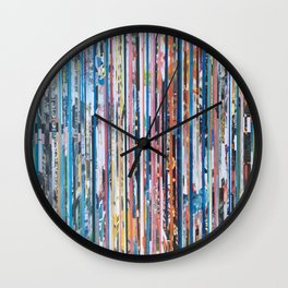 STRIPES 28 Wall Clock