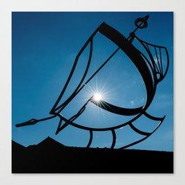 Sun Dial Canvas Print
