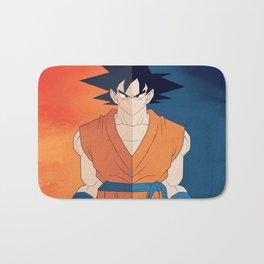 Minimalistic Goku Bath Mat