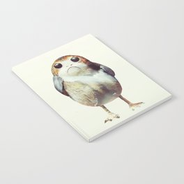 Porg on Ahch-To Notebook