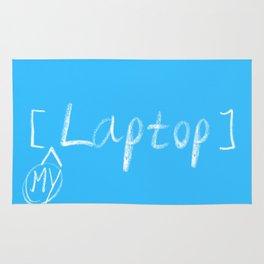 mylaptop Rug