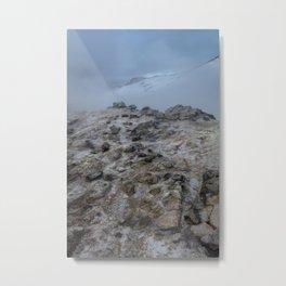 Geothermal wasteland Metal Print