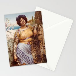 Classical Art Tattooed #1 - John William Godward Stationery Cards