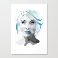gemma Canvas Prints featuring Gemma by Ketina