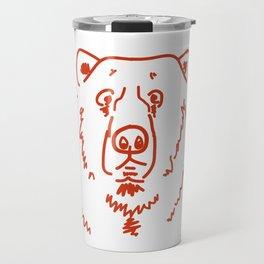 Befuddled Bear Travel Mug