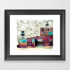 Factory #1 Framed Art Print