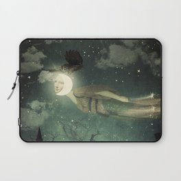 The Owl That Stole the Moon Laptop Sleeve