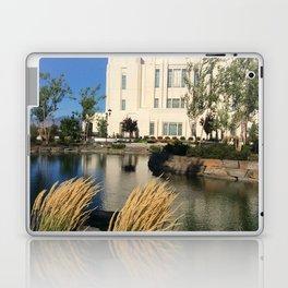 Meridian, ID LDS Temple Waving Grass Laptop & iPad Skin